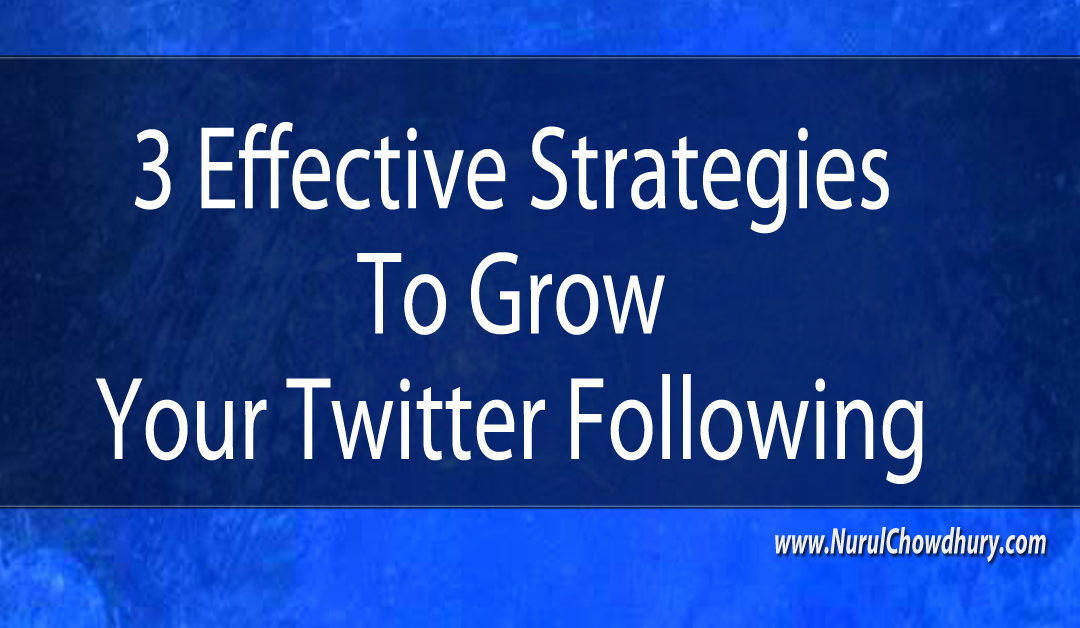 3 Effective Strategies Twitter Following