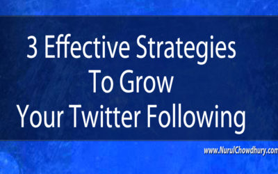 3 Effective Strategies To Grow Your Twitter Following
